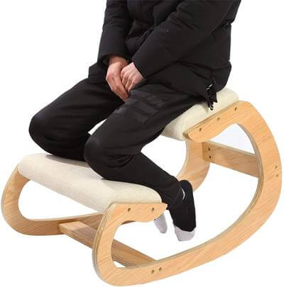 Wooden Ergonomic Kneeling Chair